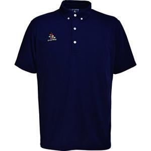 SVOLME スボルメ バックロゴポロシャツ 171-20300 XSサイズ ネイビー