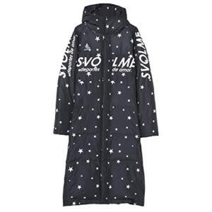 SVOLME(スボルメ) 星柄ダウンベンチコート 大人 (183-83104) BLACK Lサイズ