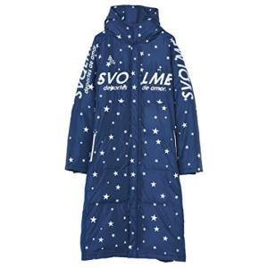 SVOLME(スボルメ) 星柄ダウンベンチコート 大人 (183-83104) NAVY XLサイズ
