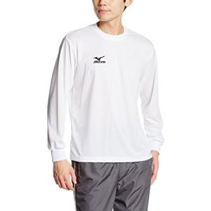 [ミズノ]  トレーニングウェア 長袖Tシャツ ナビドライ 吸汗速乾 メンズ 32JA6130 01...