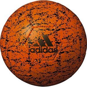 adidas アディダス サッカーボール エックス グライダー AF5638BKO ブライトオレンジ...