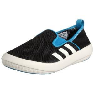 アディダス adidas BOAT SLIP-ON K D66597 D66597 ブラック/チョー...