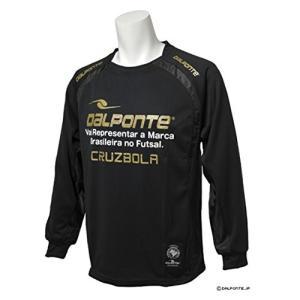 DalPonte(ダウポンチ) 長袖プラクティスシャツ Sサイズ DPZ0046 BLK(ブラック)