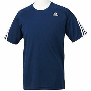 adidasアディダス M ESS 3SクライマクールTシャツ Oサイズ KAY96 (S91128) カレッジネイビー/カレッジネイビー