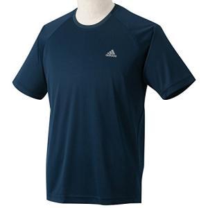 adidasアディダス 3S CL(クライマライト) ワンポイントTシャツ Sサイズ SH883 (X38051)カレッジネイビー