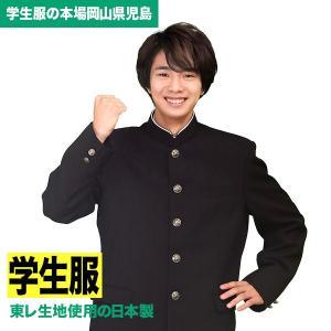 学生服 品質にこだわった 全国標準型学生服 東レ生地使用の日本製 ポリエステル100% A体|campuskagayaki