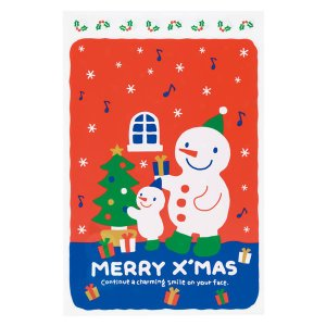 クリスマスプレゼント用、スノーマンバッグ、M、(メール便可、...