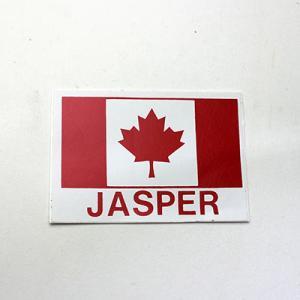 カナダ 国旗 カナダフラッグ ステッカー シール JASPER 90 x 63mm