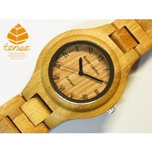 カナダ製 Tense バンブーウォッチ 竹製腕時計 メンズ レディース 日本製ムーブメント 安心の国内メンテナンス対応|canadianselect