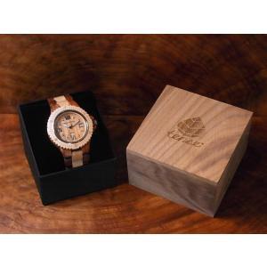 カナダ製 tense ウッドウォッチ 木製 腕時計 メンズ 日本製ムーブメント 安心の国内メンテナンス対応 日付機能付|canadianselect|04
