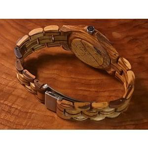 カナダ製 Tense ウッドウォッチ 木製 腕時計 メンズ 日本製ムーブメント 安心の国内メンテナンス対応 日付機能付|canadianselect|03