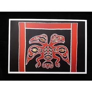 【ハイダ族(Haida族)デザインポストカード】Garfinkel Publications社|canadianselect