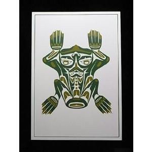 【ハイスラ族(Haisla族)デザインポストカード】Garfinkel Publications社|canadianselect