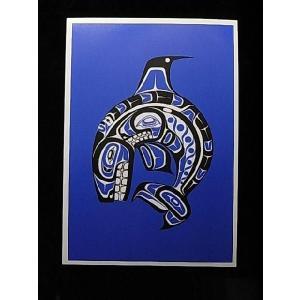 【ハイスラ族(Haisla族)デザインポストカード】Garfinkel Publications社