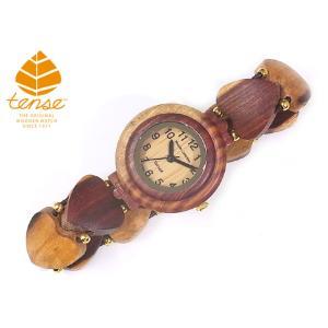 カナダ製 Tense(テンス) ウッドウォッチ 木製腕時計 レディース 日本製ムーブメント 安心の国内メンテナンス対応|canadianselect