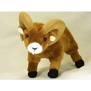 【ビッグホーンシープ(オオツノヒツジ)ぬいぐるみ】Stuffed Animal House社|canadianselect