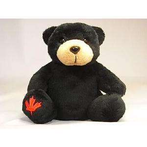 【ブラックベアーぬいぐるみ】Stuffed Animal House社製|canadianselect