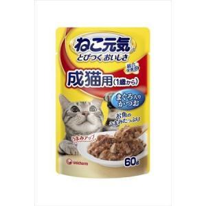 ユニチャーム ねこ元気 総合栄養食パウチ 成猫...の関連商品4