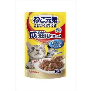 ユニチャーム ねこ元気 総合栄養食パウチ 成猫...の関連商品9