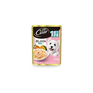 高齢犬にも食べやすく、ささみを細かくほぐしました。低脂肪なささみをふっくら蒸して低カロリーに仕上げ、...