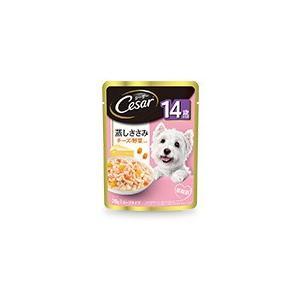 グルコサミン配合で、足腰の健康維持をサポートします。高齢犬にも食べやすく、ささみを細かくほぐしました...