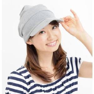 室内用帽子 オーガニックコットン段々キャスケット3色展開 SIGN Flabel NOC認定商品|canalsigncom