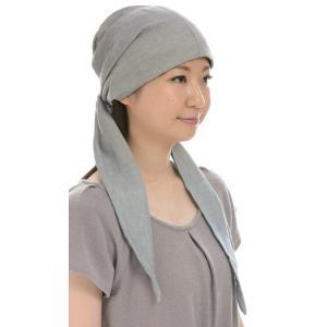 室内用帽子 オーガニックコットン・エアリーなバンダナキャップ 3色展開 SIGN FLABEL|canalsigncom