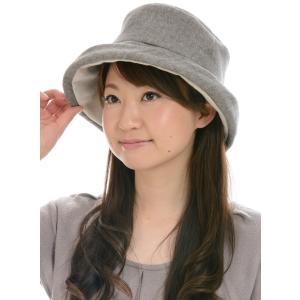 帽子 あったかシリーズオーガニックコットンウール混へリンボーンハット 2色展開 SIGN FLABEL NOC日本オーガニックコットン流通機構認定商品|canalsigncom