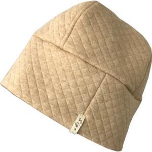 室内用帽子 キルトワッチ SIGN FLABEL オーガニックコットン中綿以外 3色展開 NOC GREEN日本オーガニックコットン流通機構認定商品 日本製|canalsigncom