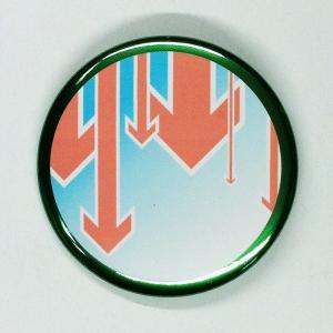 トリミングタイプ缶バッジ(緑)|canbadge-arc