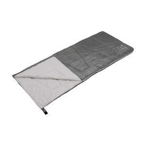 未使用時クッションとして使用可能 使用温度目安 12°Cから モンテ 洗える クッションシュラフ グレー UB-26|cancamp