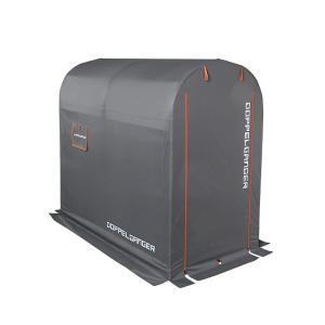 ストレージ バイクガレージ Mサイズ DCC330M-GY (グレー)|cancamp