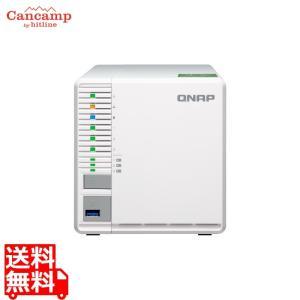 単体モデル 3ベイNAS 10GbE NAS TS-332X-2G|cancamp