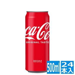 コカ・コーラ 500ml缶 (24本入)|cancamp