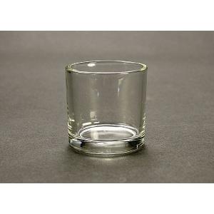 キャンドル用ガラスコップ 単品   【ジェルキャンドル ゼリーキャンドル キャンドルグラス】|candle21