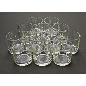 キャンドル用ガラスコップ 144個セット【ジェルキャンドル ゼリーキャンドル キャンドルグラス】|candle21