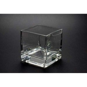 キャンドルグラス キューブL  CNA-1  12個セット【ジェルキャンドル ゼリーキャンドル ガラスコップ】|candle21
