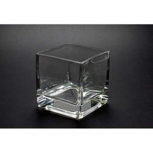 キャンドルグラス キューブL  CNA-1  48個セット【ジェルキャンドル ゼリーキャンドル ガラスコップ】|candle21