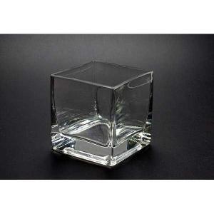 キャンドルグラス キューブL  CNA-1  単品【ジェルキャンドル ゼリーキャンドル ガラスコップ】|candle21