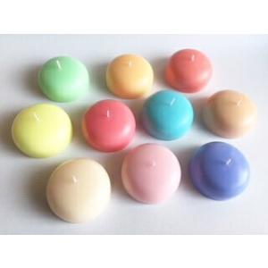 ソープ型キャンドル 単品 各8色 彫刻用 カービング