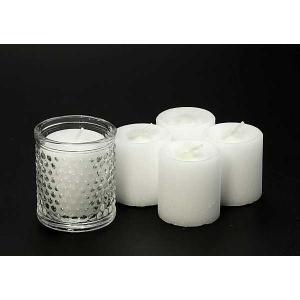 コップローソク60g ガラスコップセット  (防災用ろうそく、防災用キャンドル、非常用ろうそく、非常用キャンドル、停電)|candle21