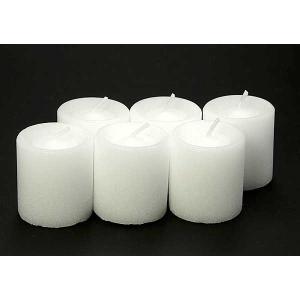 コップローソク60g コップなし6個入り  (防災用ろうそく、防災用キャンドル、非常用ろうそく、非常用キャンドル、停電)|candle21