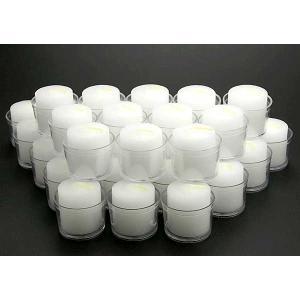 クリアカップ入りローソク30g  36個  P-9  (防災用ろうそく、防災用キャンドル、非常用ろうそく、非常用キャンドル、停電)|candle21