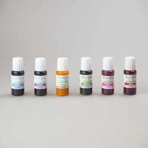 ジェルキャンドル 染料 10ml 全6色 液体染料 ゼリーキャンドル 材料