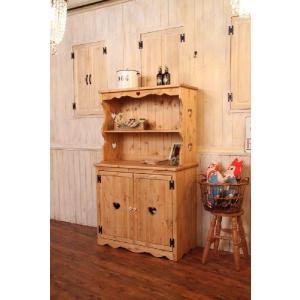 カントリー調家具 食器棚 カップボード 北欧パイン オーダー家具 COUNTRY・ハッチボード ctf cbd cnt|candoll-2014