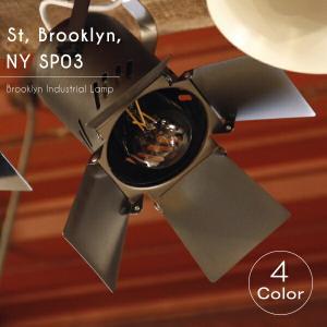 【エジソン型 LED付き】スポットライト 間接 照明 レール式 ブルックリンインダストリアルランプ- St, Brooklyn, NY SP03 -|candoll-2014