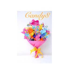 キャンディブーケ キャンディ8 candy  ポップ 花束 誕生日 プレゼント オリジナル 発表会 送別会 キャンディーフラワー |candy-8