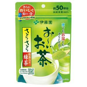 伊藤園 お〜いお茶 抹茶入りさらさら緑茶 40g入 粉末 お茶 緑茶 りょくちゃ 通販|candy