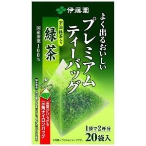 伊藤園 プレミアムティーバッグ 抹茶入り緑茶 20袋 お茶 緑茶 りょくちゃ 通販 ティーパック|candy
