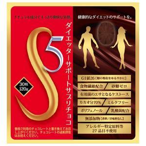 甘いチョコで満足ダイエット!S5ダイエッターサポートサプリチョコの商品画像|ナビ